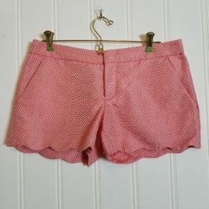 Club Monaco Amber scalloped shorts
